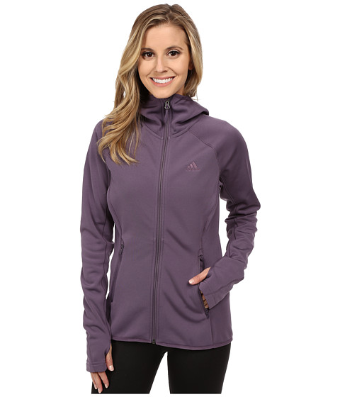 Imbracaminte Femei adidas Outdoor Mountainglow Fleece Hoodie Ash Purple