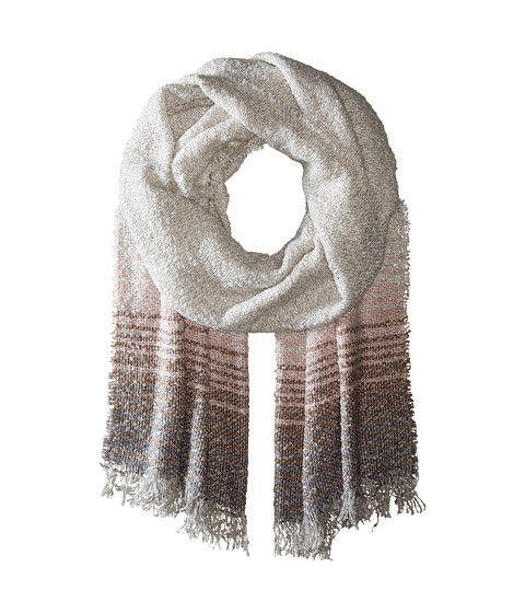 Accesorii Femei BCBGeneration Ombre Stripe Oversized Wrap Antic Grey