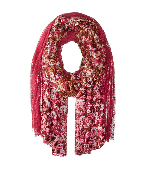Accesorii Femei BCBGeneration Cabbage Floral Crushed Berry