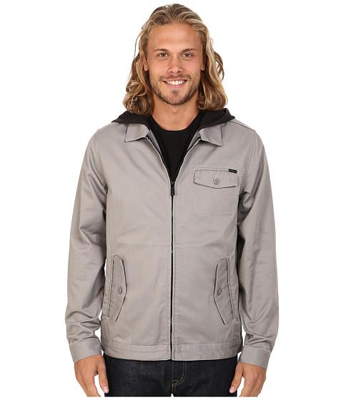 Imbracaminte Barbati O'Neill London Hooded Garage Jacket Grey