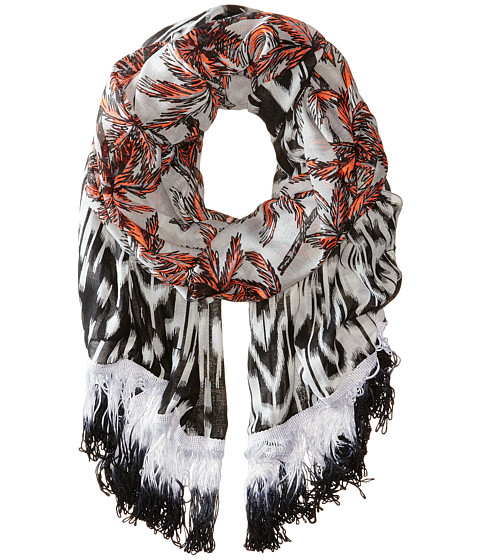 Accesorii Femei Steve Madden Ikat Border Palm Trees Day Wrap Silver