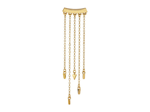 Bijuterii Femei Rebecca Minkoff Bar Fringe Climber Earrings Gold Toned