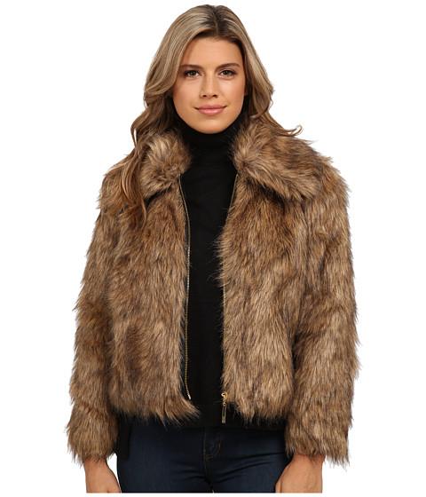 Imbracaminte Femei kensie Tipped Faux Fur KS0K2156 Mushroom Combo