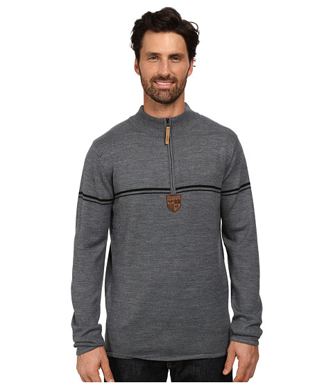 Imbracaminte Barbati Obermeyer Zurich 12 Zip Sweater Heather Grey