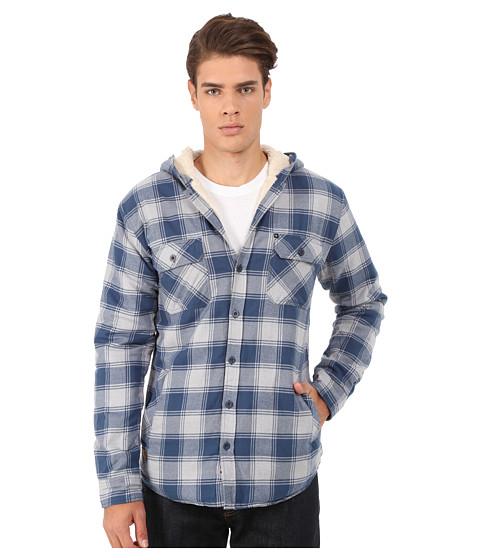 Imbracaminte Barbati Rip Curl Hayes Long Sleeve Flannel Off-White