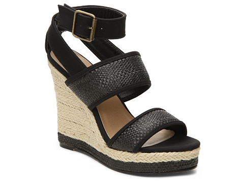 Incaltaminte Femei Michael Antonio Galah Wedge Sandal Black