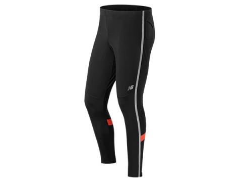 Imbracaminte Barbati New Balance Beacon Tight Black with Flame