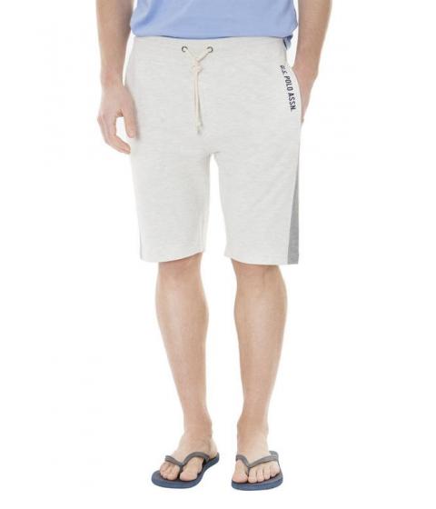 Imbracaminte Barbati US Polo Assn French Terry Shorts SUMMER OATMEAL