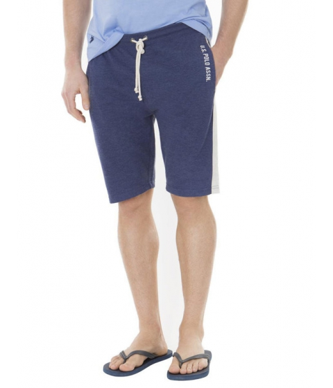 Imbracaminte Barbati US Polo Assn French Terry Shorts DODGER BLUE HEATHER