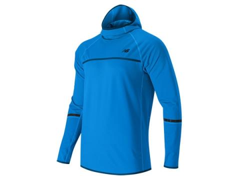 Imbracaminte Barbati New Balance NB Heat Pullover Hoodie Bolt