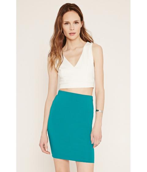 Imbracaminte Femei Forever21 Contemporary Pencil Skirt Jade