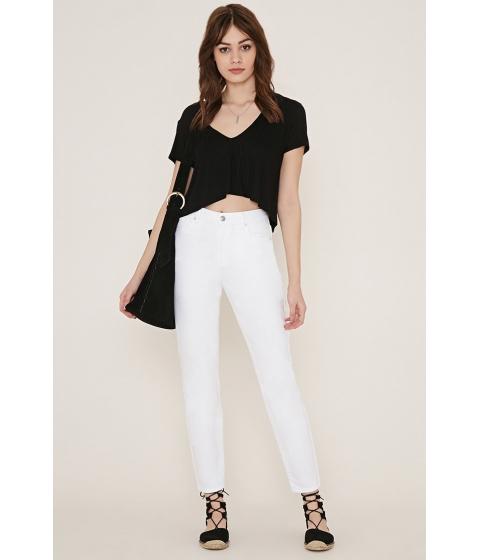 Imbracaminte Femei Forever21 Mom Jeans White