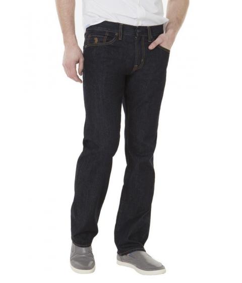 Imbracaminte Barbati US Polo Assn Slim Straight Fit Jeans Blue