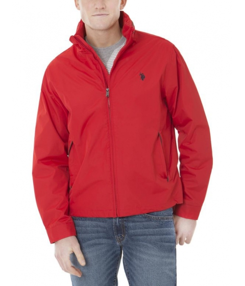 Imbracaminte Barbati US Polo Assn PIPPED JACKET Engine Red