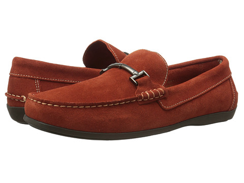 Incaltaminte Barbati Florsheim Jasper Bit Burnt Orange Suede