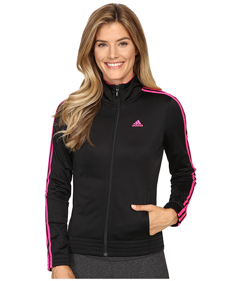 Imbracaminte Femei adidas 3-Stripes Jacket BlackShock Pink