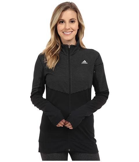Imbracaminte Femei adidas Lightweight Full Zip Jacket BlackBlackMatte Silver