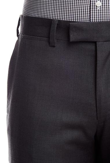 Imbracaminte Barbati Louis Raphael Slim Fit Flat Front Trouser - 30-34 Inseam CHARCOAL