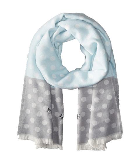 Accesorii Femei Betsey Johnson Jeweled Dots Blanket Wrap Sky