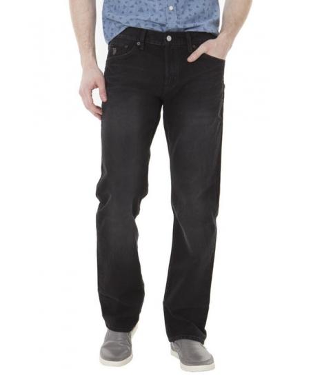 Imbracaminte Barbati US Polo Assn Slim Straight Fit Jeans Black