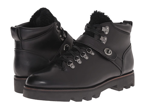Incaltaminte Barbati COACH Tompkins Hiker Black Shearling