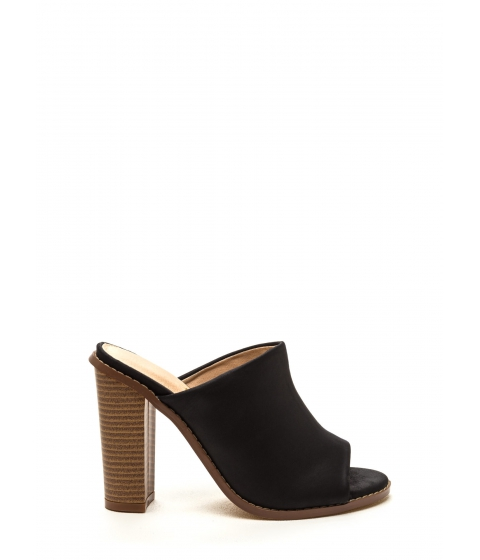 Incaltaminte Femei CheapChic Work Week Mule Heels Black