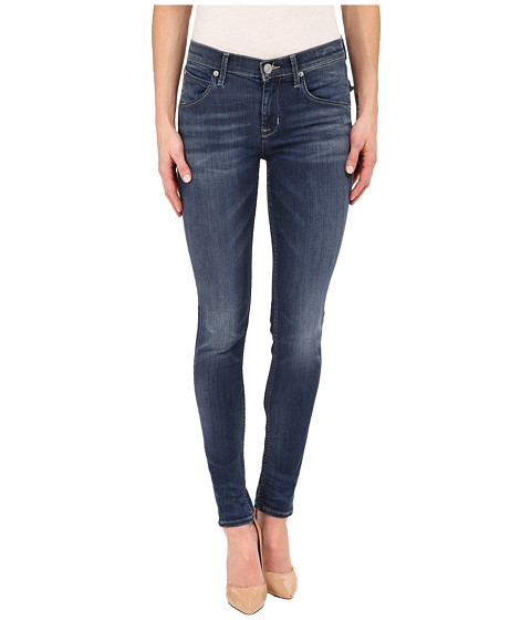 Imbracaminte Femei Hudson Lilly Mid-Rise Ankle Skinny in Indigo Aster Indigo Aster