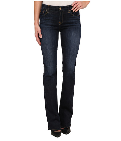 Imbracaminte Femei 7 For All Mankind Kimmie Bootcut in Slim Illusion TriedTrue Blue Slim Illusion TriedTrue Blue