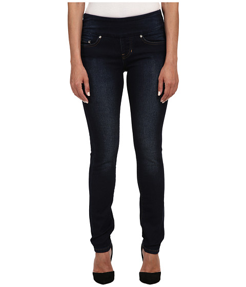 Imbracaminte Femei Jag Jeans Petite Nora Pull On Skinny Knit Denim in Dark Whale Dark Whale