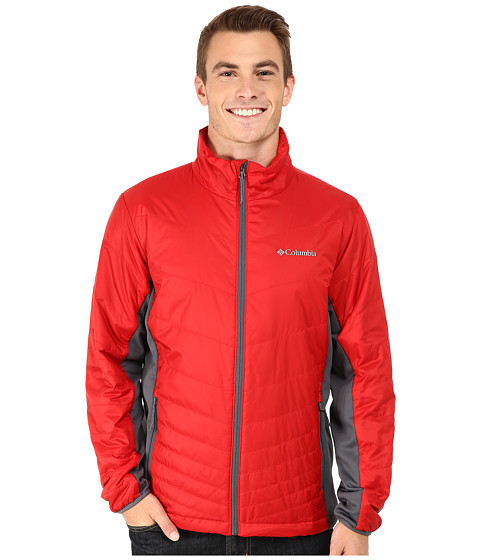 Imbracaminte Barbati Columbia Mighty Lighttrade Hybrid Jacket RocketGraphite