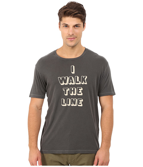 Imbracaminte Barbati Lucky Brand I Walk The Line Graphic Tee Black Mountain