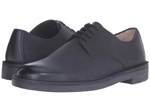 Incaltaminte Barbati Clarks Bushacre Move Black Leather