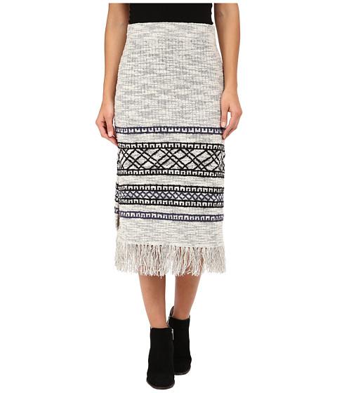 Imbracaminte Femei Free People Fringe Sweater Skirt Grey Combo