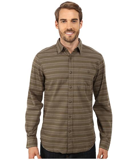 Imbracaminte Barbati Royal Robbins Sierra Stripe Long Sleeve Shirt Light Olive