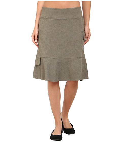 Imbracaminte Femei Royal Robbins Herringbone Discovery Knee Length Skirt Everglade