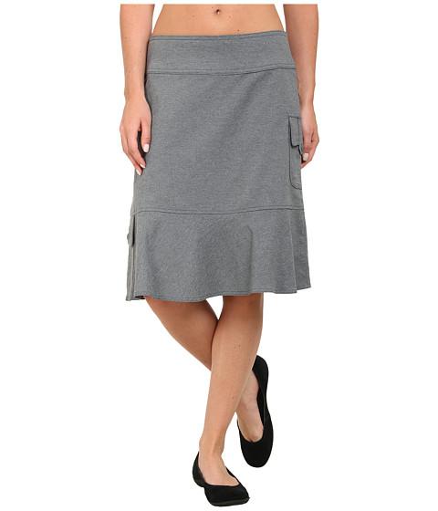 Imbracaminte Femei Royal Robbins Herringbone Discovery Knee Length Skirt Pewter