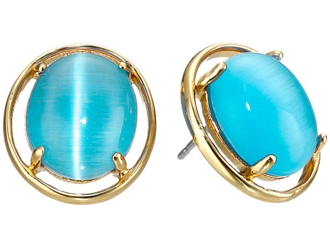 Bijuterii Femei Kate Spade New York Open Rim Studs Earrings Turquoise