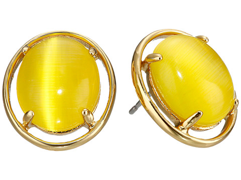 Bijuterii Femei Kate Spade New York Open Rim Studs Earrings Yellow