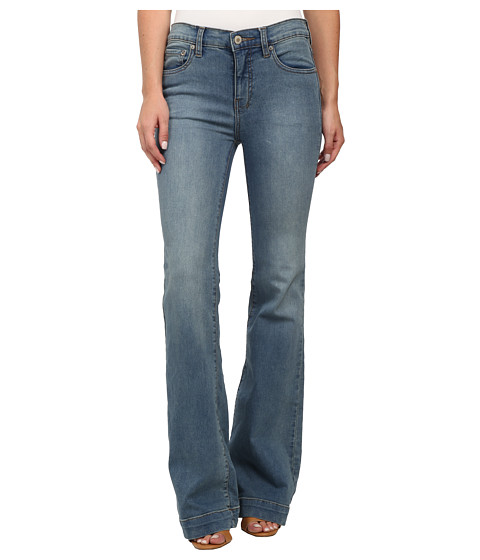 Imbracaminte Femei Free People Gummy Denim Clean Mid Rise Flare Stevie Wash