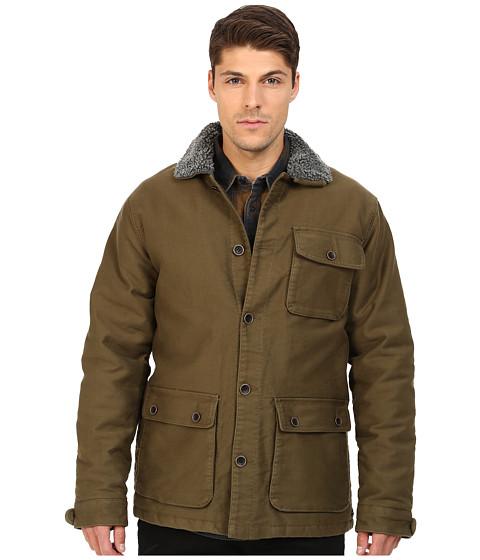 Imbracaminte Barbati RVCA Harding Jacket Dark Olive