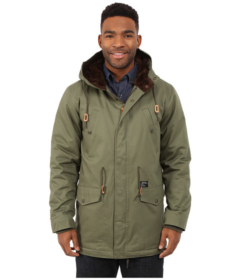 Imbracaminte Barbati Obey Ransack Parka Jacket Light Army