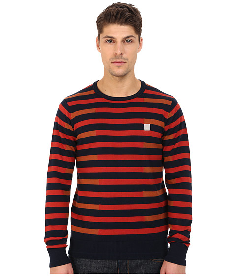 Imbracaminte Barbati Bench Stagger Crew Neck Knit Total Eclipse