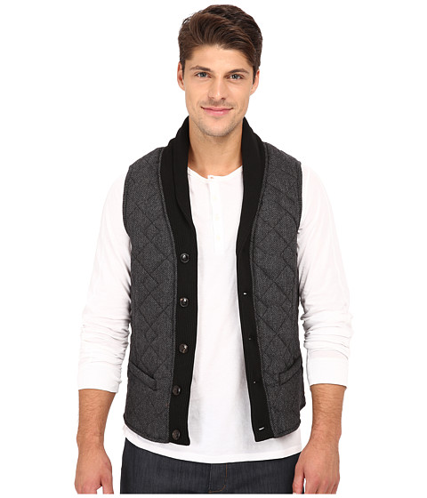 Imbracaminte Barbati Scotch Soda Wool Shawl Vest Grey