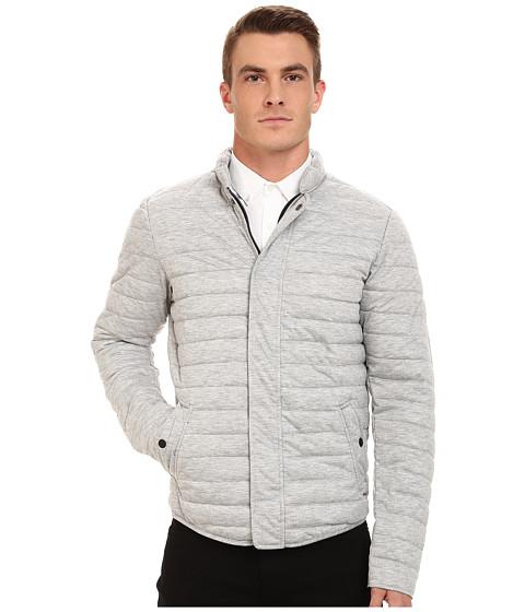Imbracaminte Barbati Scotch Soda Short Horizontal Quilt Jacket Grey Melange