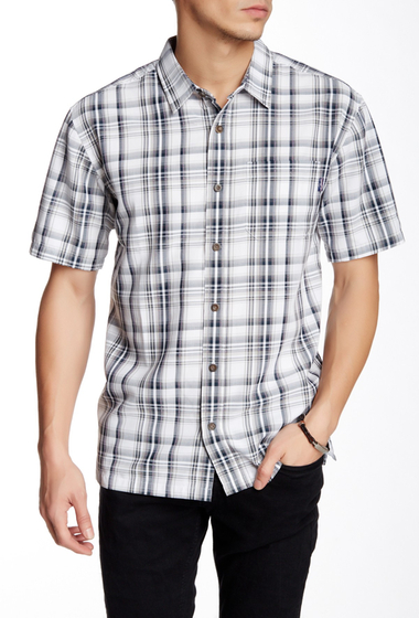 Imbracaminte Barbati Jack O'Neill Largo Plaid Short Sleeve Regular Fit Shirt NVY