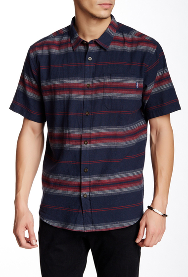 Imbracaminte Barbati Jack O'Neill Rhodes Striped Short Sleeve Regular Fit Shirt DNY