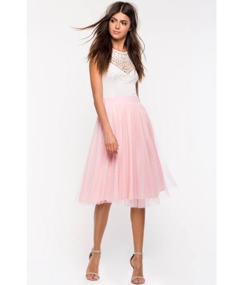 Imbracaminte Femei CheapChic Julie Tulle Midi Skirt Blush