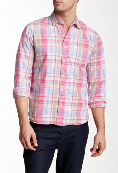 Imbracaminte Barbati Bonobos Ray Plaid Long Sleeve Standard Fit Shirt Pink Plaid