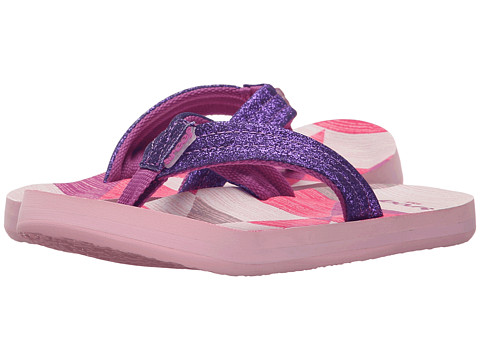 Incaltaminte Fete Reef Little Ahi Stars (InfantToddlerLittle KidBig Kid) PurpleMulti