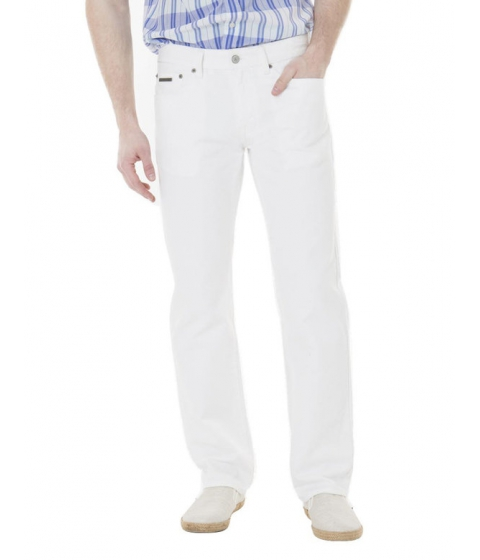 Imbracaminte Barbati US Polo Assn Slim Straight Fit Jeans White